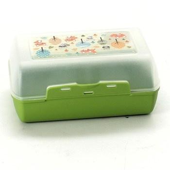 Box na svačinu Emsa zelený