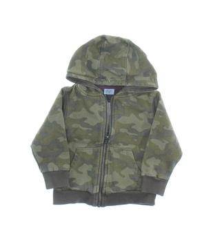 Dětská mikina F&F pro batole s kapucí khaki