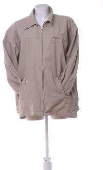 Pánská bunda Success na zip šedá