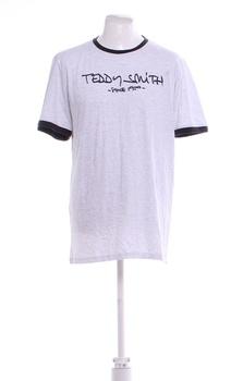 Pánské tričko Teddy Smith šedé