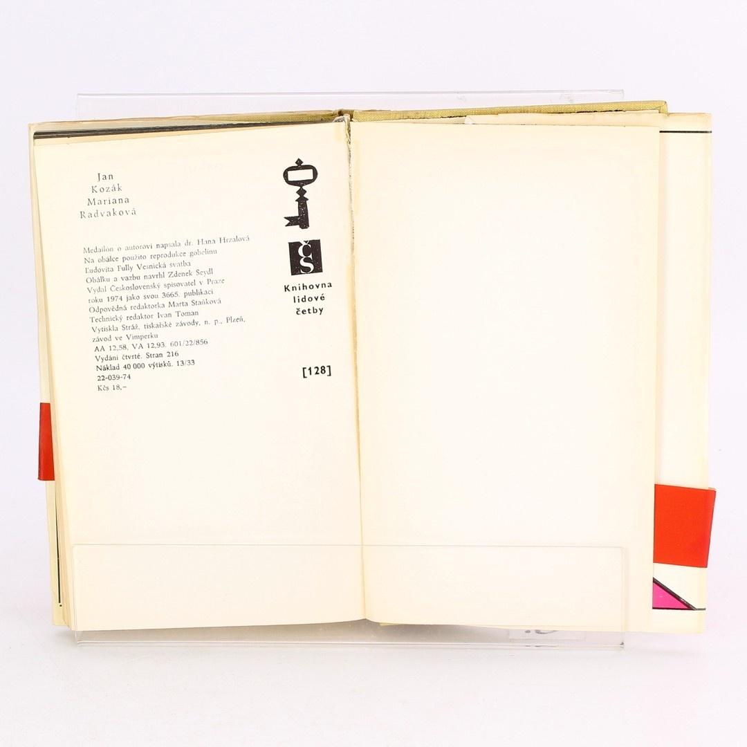 Kniha Jan Kozák: Mariana Radvaková