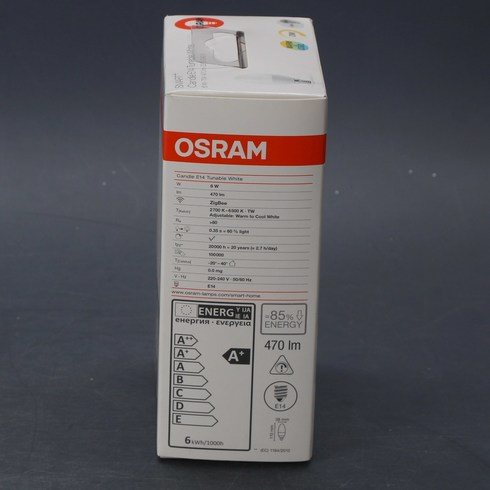 Žárovka Osram SMART+ Candle E14 Tunable