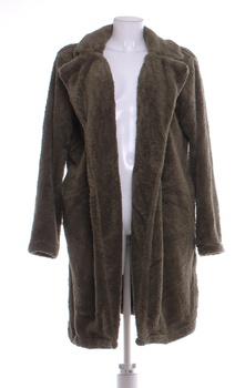 Dámský jarní kabát khaki barvy vel. M