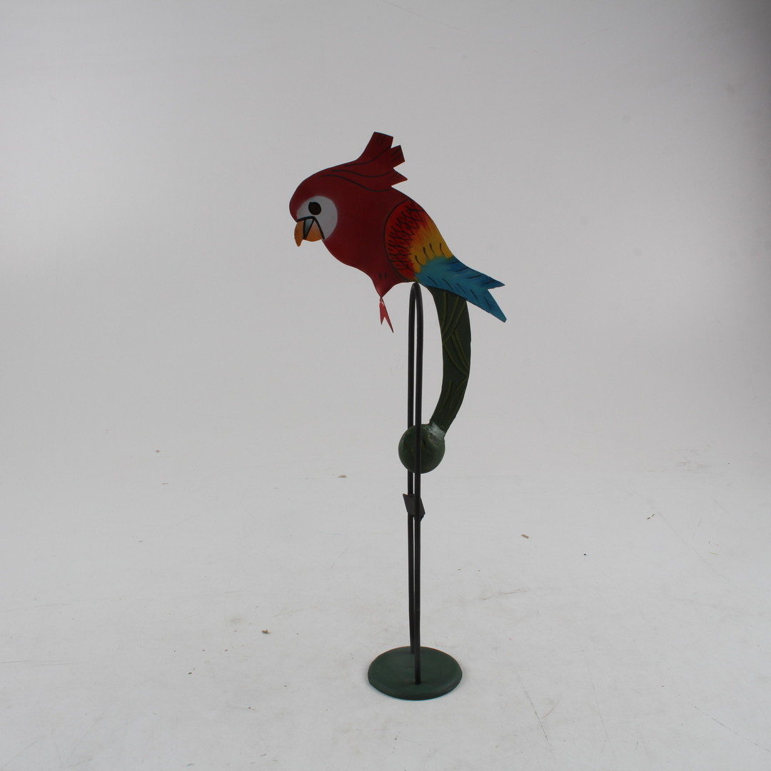 Dekorace - kyvadlo papoušek