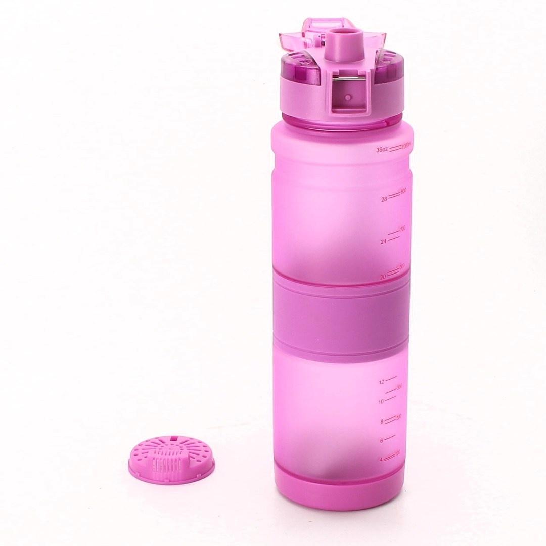 Sportovní lahev ZORRI 1000 ml fialová