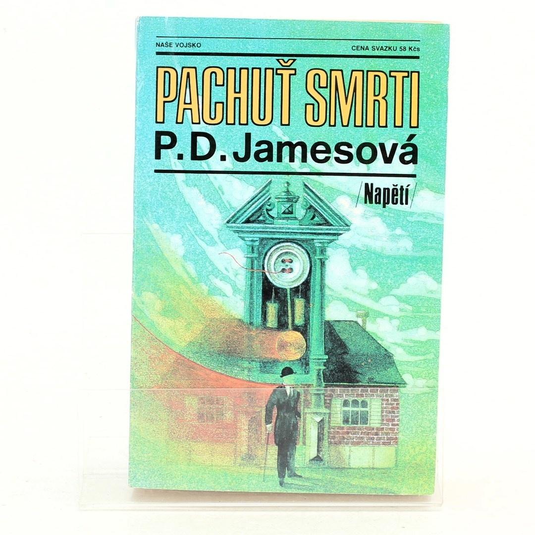 Brožura Pachuť smrti P.D.Jamesová