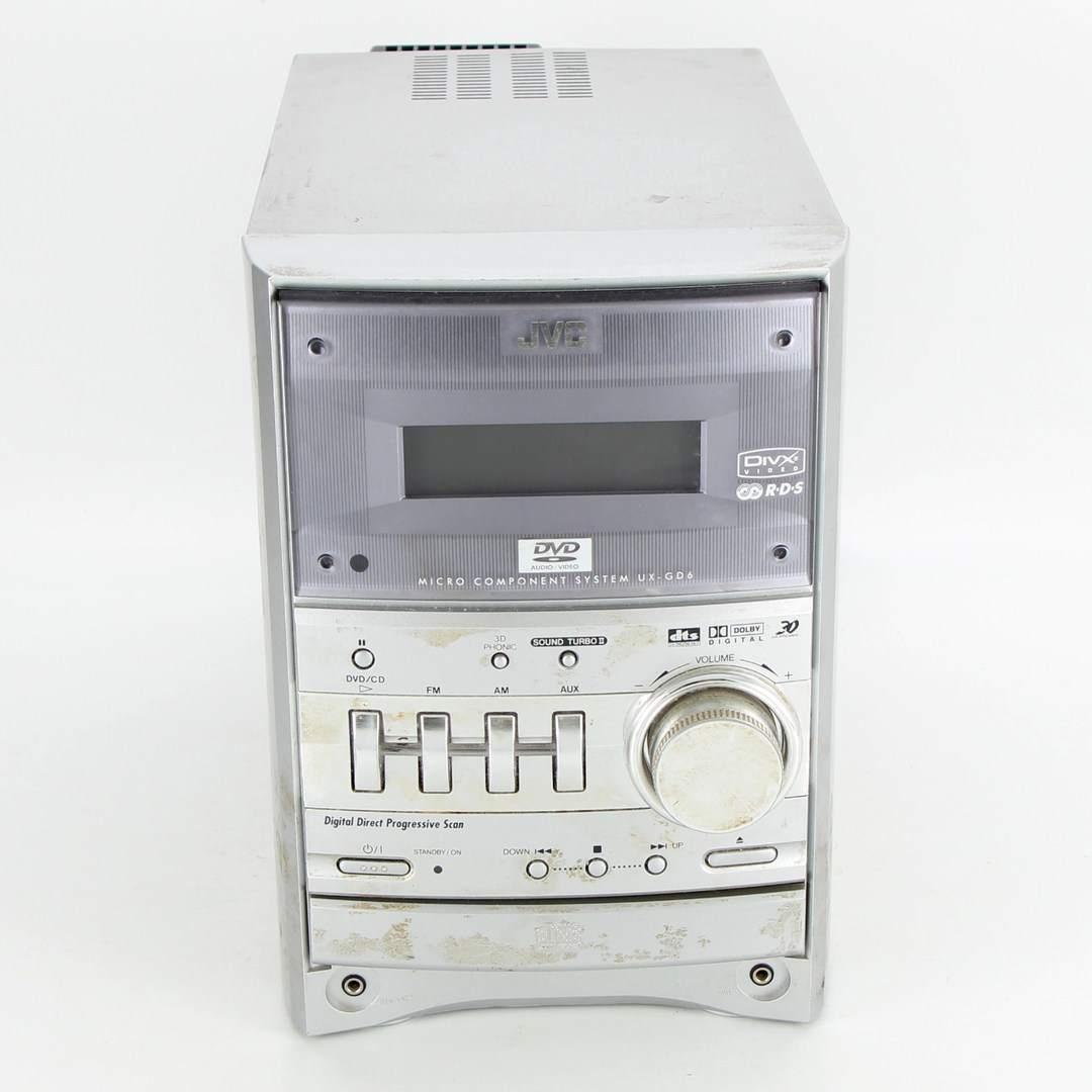JVC UX-GD6 stříbrná