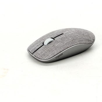 Bezdrátová myš Rapoo šedá