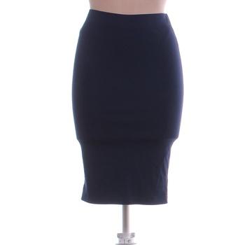 Dámská sukně Esmara po kolena modrá