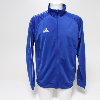 Pánská mikina na zip Adidas modrá L