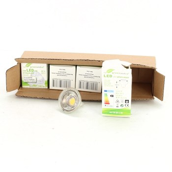 LED žárovka Greenandco 3 W - 5 ks