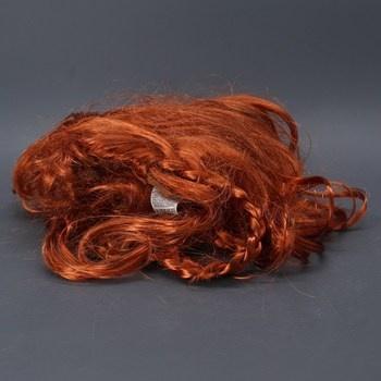 Dámská paruka měděné vlasy