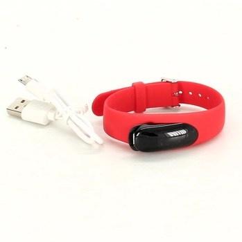 Fitness náramek Yamay Ftness tracker červený