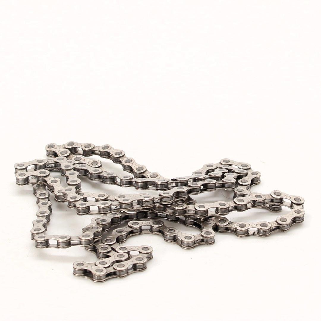 Řetěz KMC E10 122 článků stříbrný