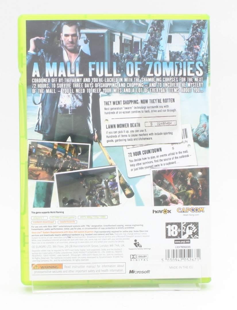 Hra na Xbox 360 - Deadrising