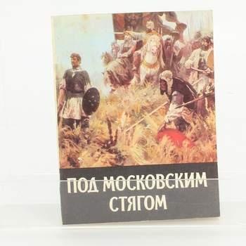 Historická kniha Pod moskevským praporem