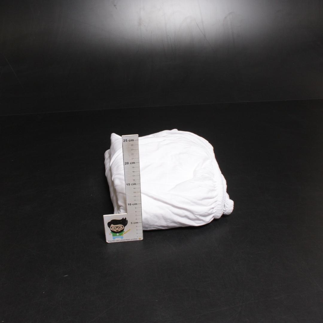 Bavlněné prostěradlo Celina Tex Lucina bílé