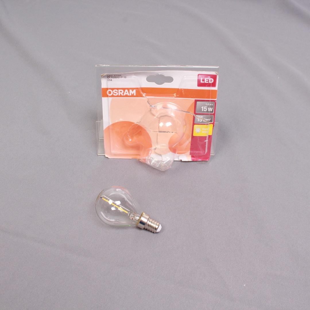 LED žárovka Osram P15 E14
