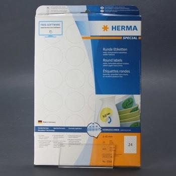 Samolepicí štítky Herma 600 ks