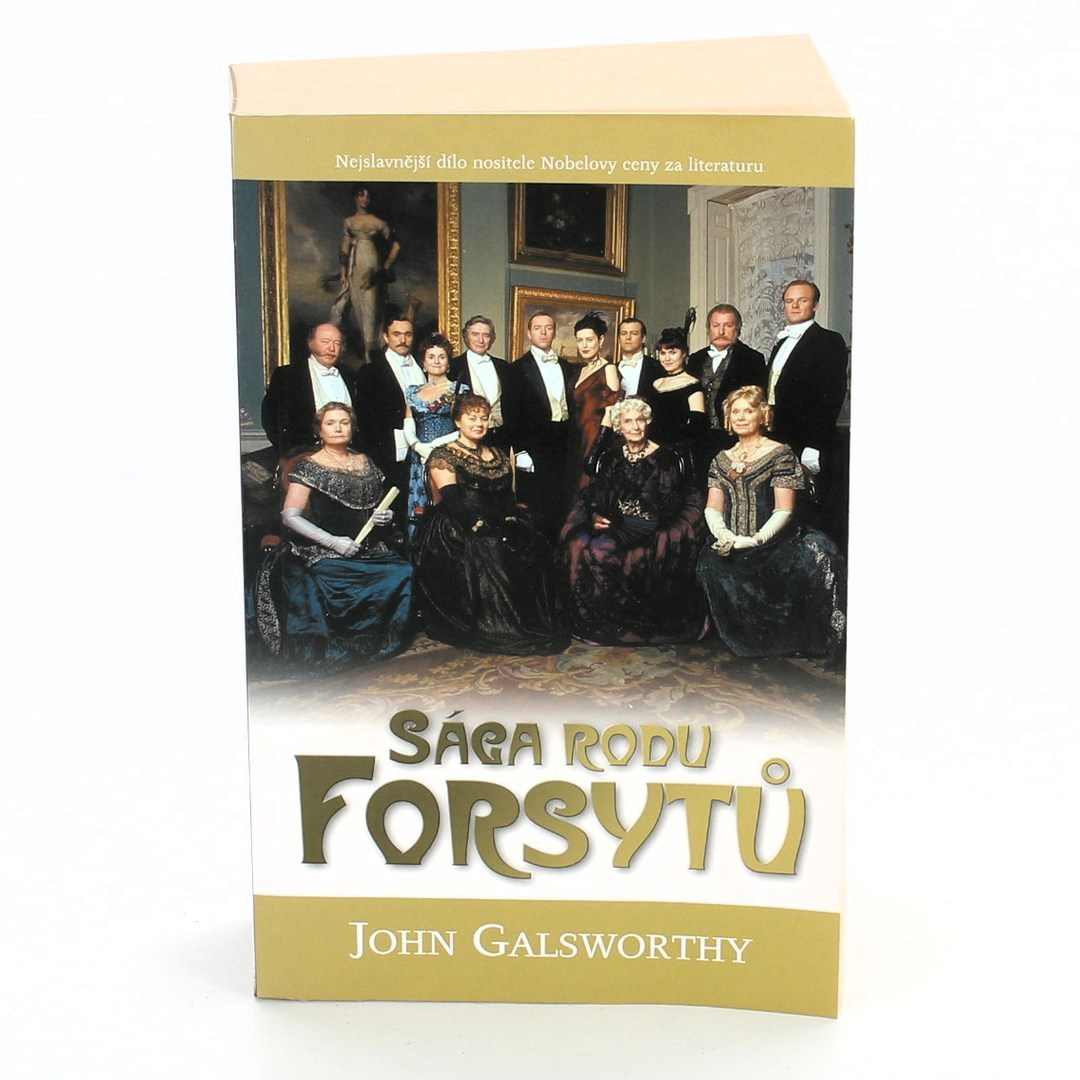 Kniha Sága rodu Forsytů John Galsworthy