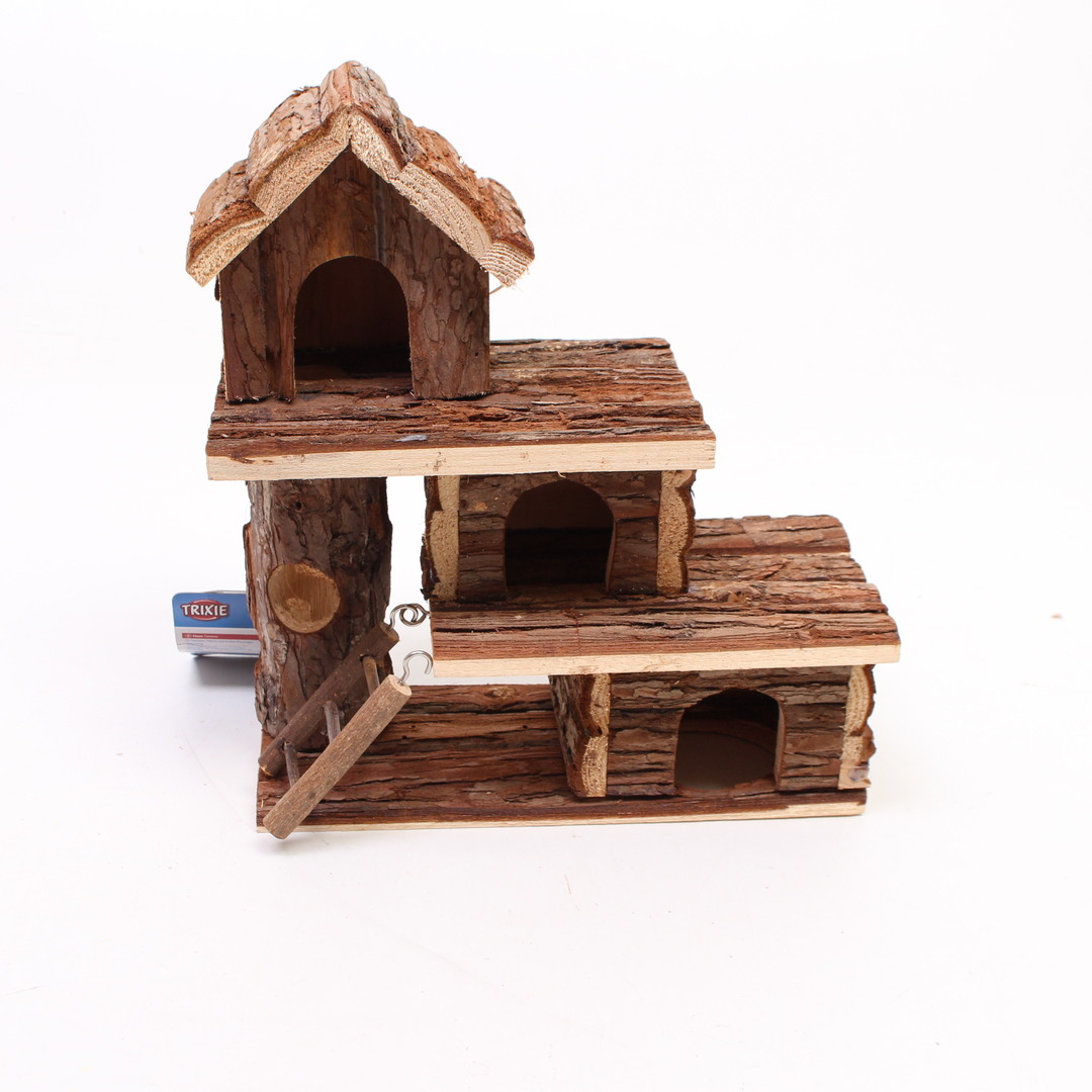 Dřevěný domeček pro myš nebo křečka Trixie