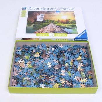 Puzzle Ravensburger Mystické světlo 1000