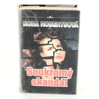 Kniha Soukromý skandál Nora Robertsová