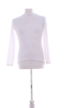 Pánské tričko termo bílé dlouhý rukáv