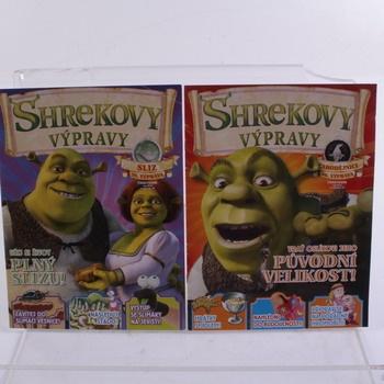 Časopisy Shrekovy výpravy