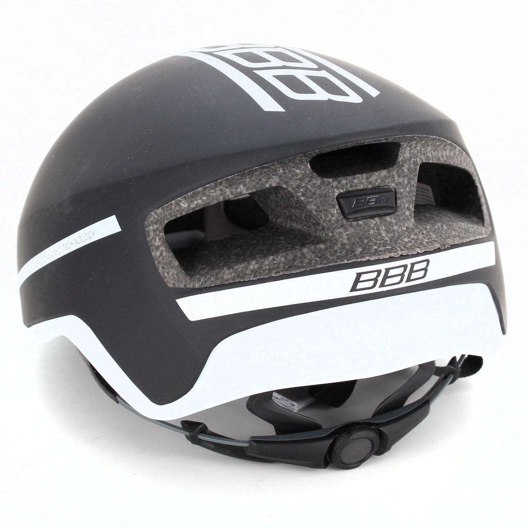 Černá cyklistická helma BHE-08