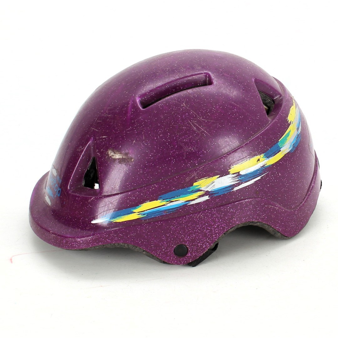 Cyklistická helma Atlas fialová