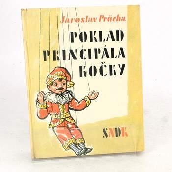 Kniha Poklad principála kočky Jaroslav Průcha
