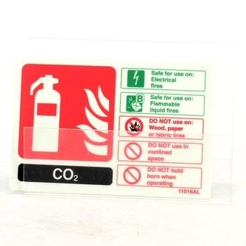 Plastová cedulka - s varováním