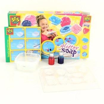 Kreativní sada SES Glitter soap výroba mýdla