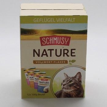 Kapsičky pro kočky Schmusy Nature 12 kusů
