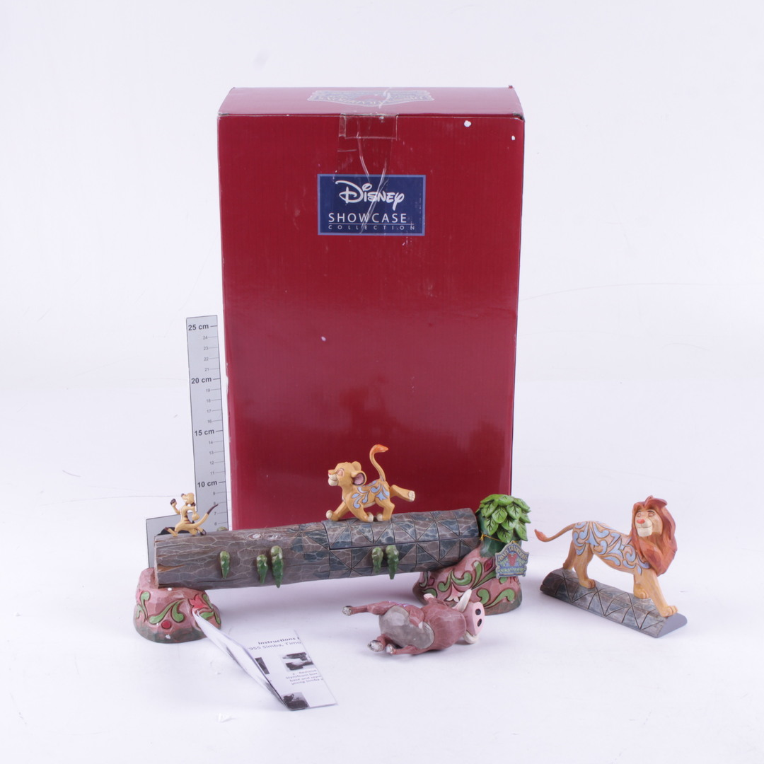 Postavičky Disney z pohádky Lví král