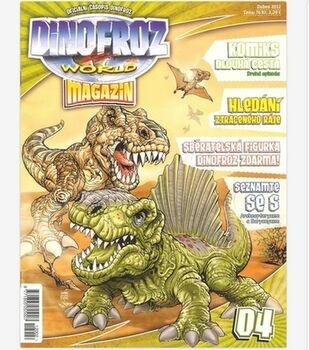 Časopis Dinofroz World magazín duben 2012