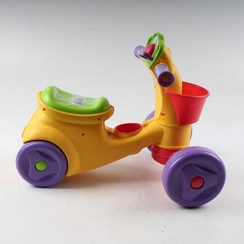 Dětské plastové odrážedlo barevné Mattel