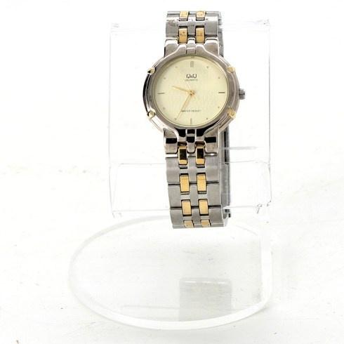 dd2a48abb4c Dámské hodinky Q Q kovové - bazar