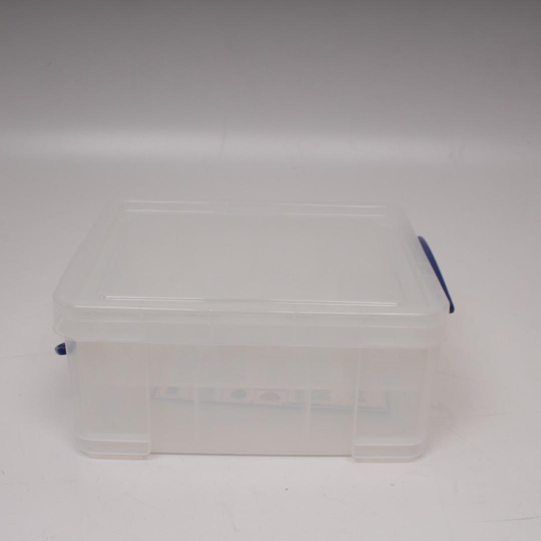 Plastový box s víkem 21 litrů
