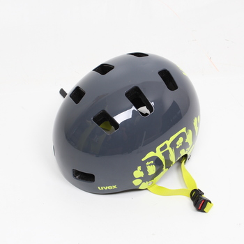 Dětská helma Uvex Kid 3 šedá, vel. 55-58 cm