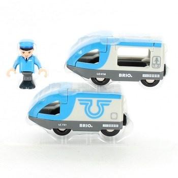 Vláčkový set Brio Travel battery train 3350