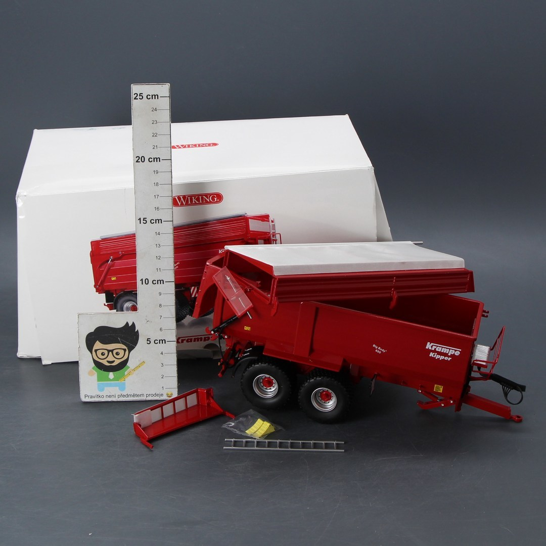 Model přívěsu Wiking Krampe Big Body 650