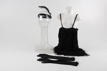 Dámský karnevalový kostým Smiffy's černý