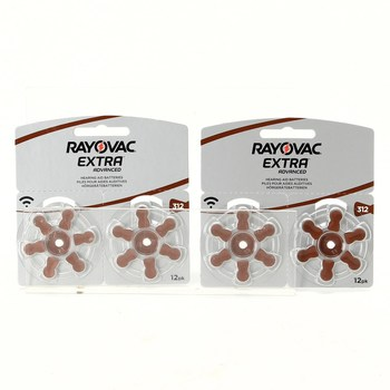 Baterie do naslouchátka Rayovac 312