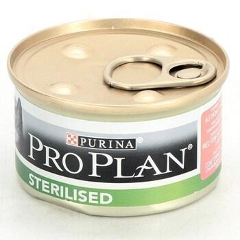 Kočičí konzervy Purina Pro Plan