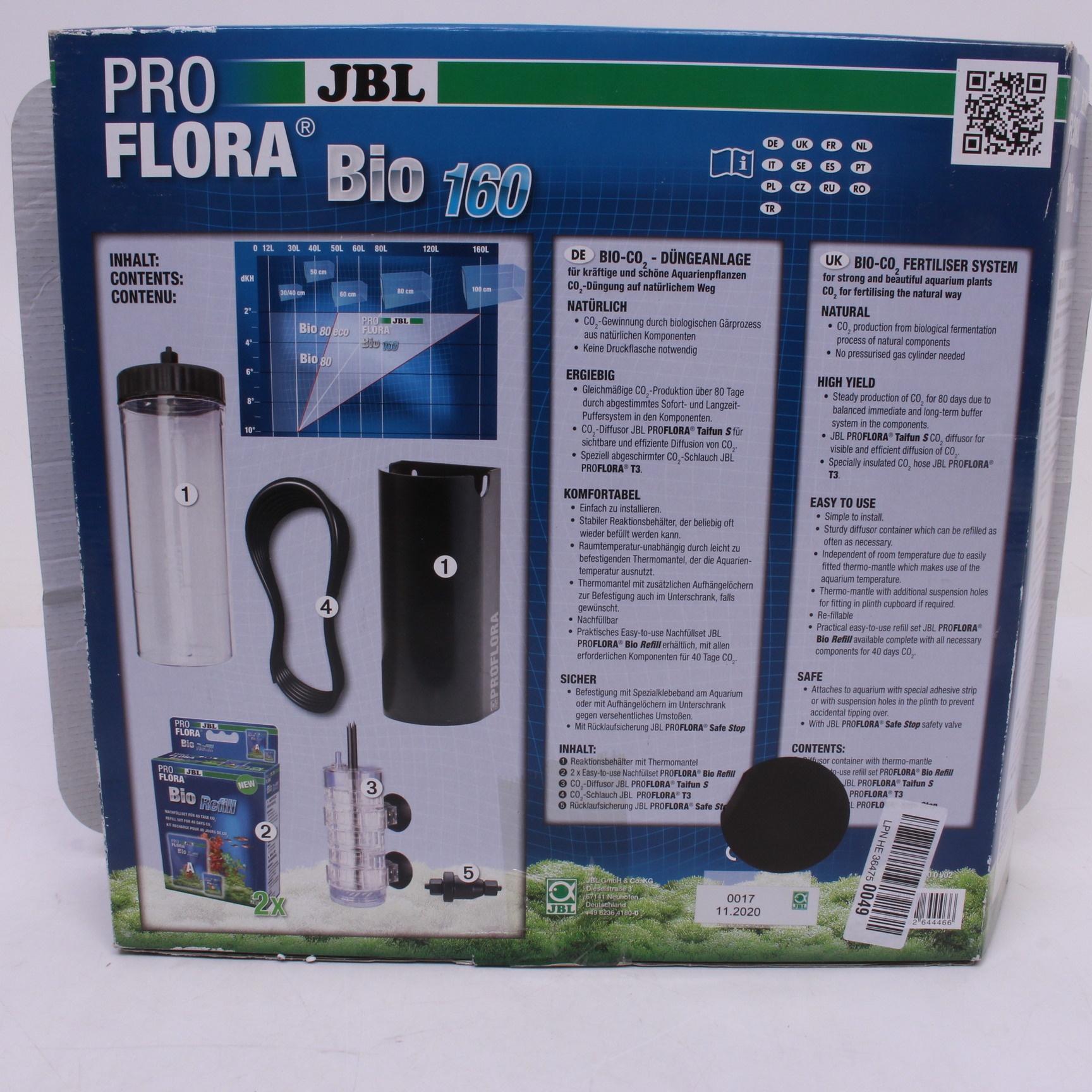 Hnojící zařízení JBL PROFLORA BIO 160