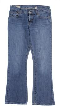 Pánské džíny Abercrombie & Fitch modré
