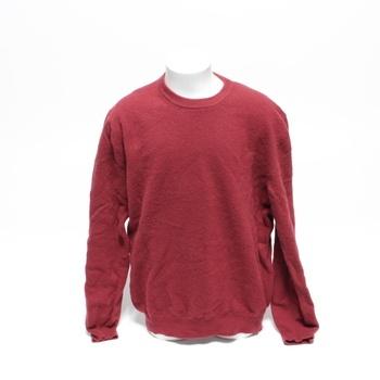 Pánský svetr bordové barvy