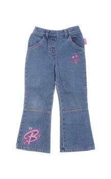 Dívčí zvonové džíny Barbie